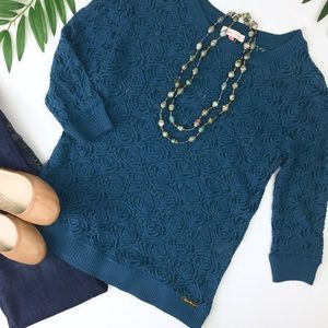 English Laundry / teal top